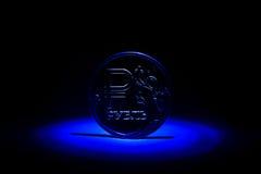 Новая русская монетка - одна рублевка Стоковые Изображения RF