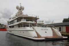 Новая секретная яхта Стоковые Фото