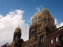 Новая синагога, Берлин, Германия Стоковые Изображения RF
