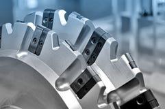 Новая современная промышленная мельница Голубой тонизировать Стоковое Изображение