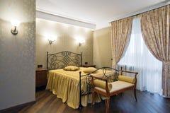 новая спальни нутряная Стоковая Фотография