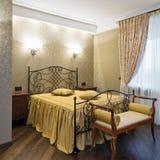 новая спальни нутряная Стоковое Изображение