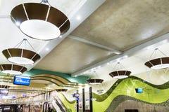 Новая станция метро в Софии Стоковые Фотографии RF