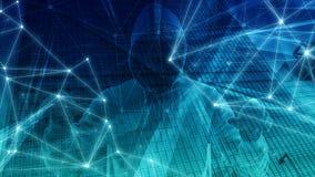 Новая технология обрабатывая зачатие техника алгоритма цифровое, состав команд вычислительной машины иллюстрация штока