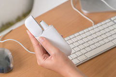 Новая технология электронных сигарет, система топления к Стоковые Изображения