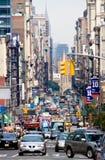 новая улица york Стоковое фото RF