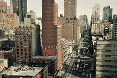 новая улица york стоковое фото