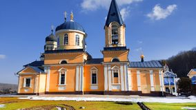 Новая христианская церковь в республике Молдавии Стоковая Фотография RF