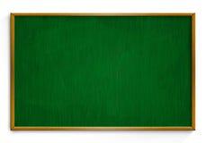 Новая черная доска мела при деревянная рамка изолированная на белом backg Стоковое фото RF
