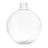 Новая, чистая, пустая пластичная бутылка на белой предпосылке Стоковая Фотография RF