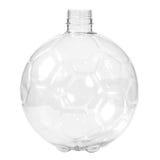Новая, чистая, пустая пластичная бутылка на белой предпосылке Стоковое Изображение