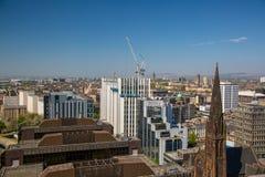 Новая шотландская сила размещает штаб под конструкцией от здания башенкы Стоковое Фото