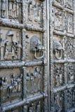Новгород может центральная дверь 2018 собора стоковое фото rf