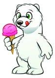 Новичок медведя с мороженым Стоковые Фотографии RF