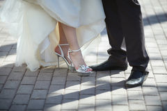 Новобрачные ног Стоковые Изображения RF