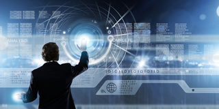 Нововведения технологии Стоковое Изображение RF