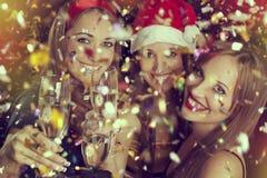 Новогодняя ночь Стоковое Фото