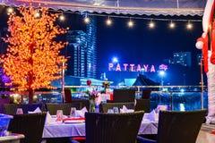 Новогодняя ночь в Таиланде Стоковое Изображение