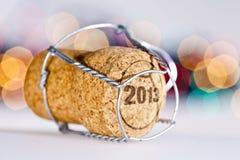 Новогодняя ночь Стоковая Фотография RF