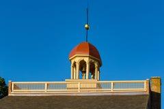Новое здание суда замка стоковые изображения