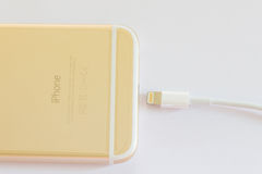 Новое золото iPhone 6 Стоковое Фото