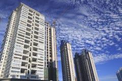 Новое здание в утре Стоковые Фото