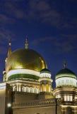 Новое здание мечети в Москве Стоковая Фотография RF