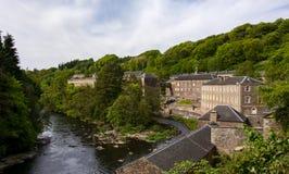Новое место всемирного наследия Lanark Стоковая Фотография