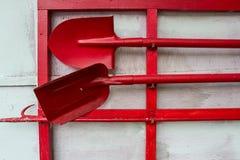 Новое отделение пожарной охраны Глазго тушить инструменты пожара Стоковые Фото