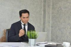 Новое поколение молодого бизнесмена Стоковая Фотография