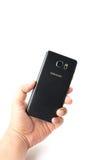 Новое примечание 5 галактики Samsung Smartphone с ручкой s Стоковые Фотографии RF