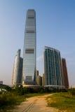 Новое развитие города в Гонконге стоковые изображения rf