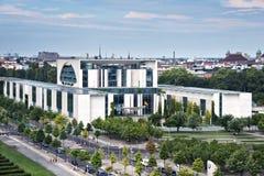 Новое федеральное - немецкое ведомство канцлера стоковая фотография