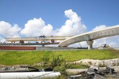 Новое шоссе стоковая фотография rf