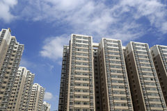Новое indemnificatory снабжение жилищем для малообеспеченных людей Стоковое Изображение RF