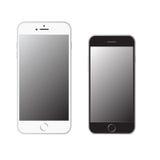 Новое iPhone 6 и 6 добавочные Стоковое Фото