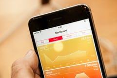 Новое iPhone 6 Яблока и iPhone 6 добавочное Стоковое Изображение