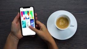 Новое iPhone x акции видеоматериалы