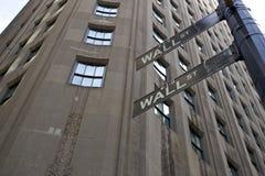 новое wallstreet york Стоковое Изображение