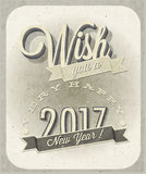Новое Year& x27; карточка s Eve Стоковое Изображение RF