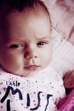 Новорожденный стороны младенца меньшая несоосность Стоковые Фотографии RF