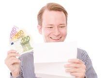 Новости денег стоковые изображения