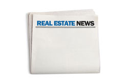 Новости недвижимости стоковая фотография rf