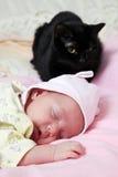 Ново - рожденный младенец Стоковое фото RF