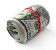 Новые банкноты крена долларов Стоковые Фото