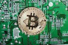 новые виртуальные деньги Cryptocurrency Стоковые Фото