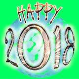 Новые Годы 2018 Стоковые Фотографии RF