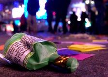 Новые Годы Eve Таймс площадь Стоковая Фотография RF