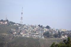 Новые городки горы в Индии Стоковое фото RF