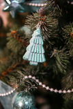 Новые Годы украшений дерева Стоковое Фото